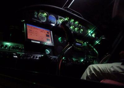 Air Tractor Interior