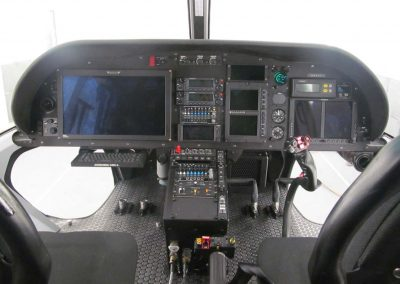 Airbus AS350 B3 Austin PD Interior IP Front