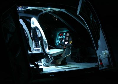 Airbus EC130 Night Outside Looking In