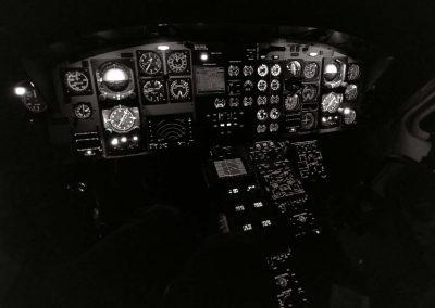 Bell 412 Flight Sim BW