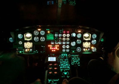 Bell 412 Flight Sim Night