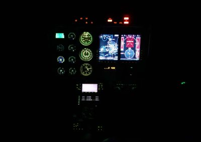 Classic Aviation Bell 407 Front IP Night