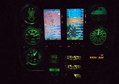 R44 Night Aspen Displays Palm Beach Helicopters