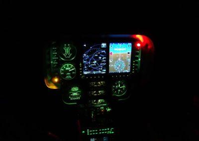 R44 Night G500 Lowe Aviation